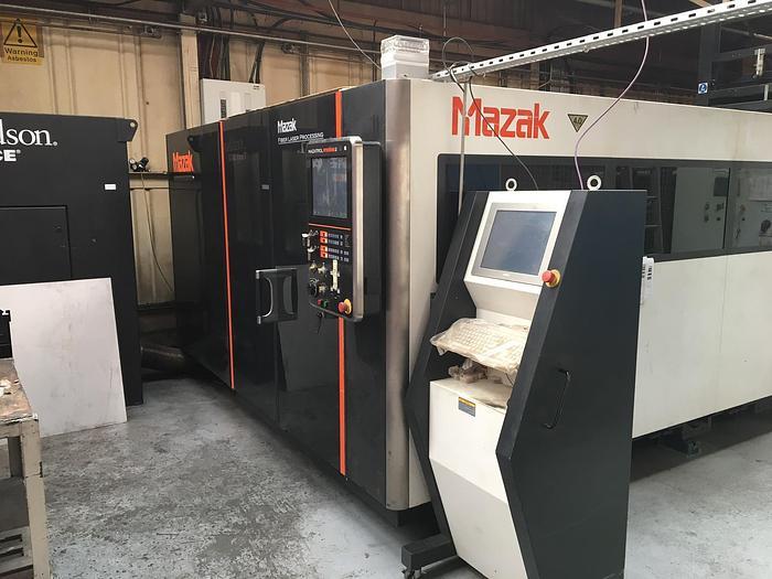 Used 2013 – Mazak Optiplex 3015 Fiber 4 KW