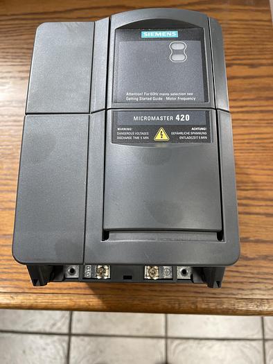 Used SIEMENS 6SE6420-2UD22-ABA1