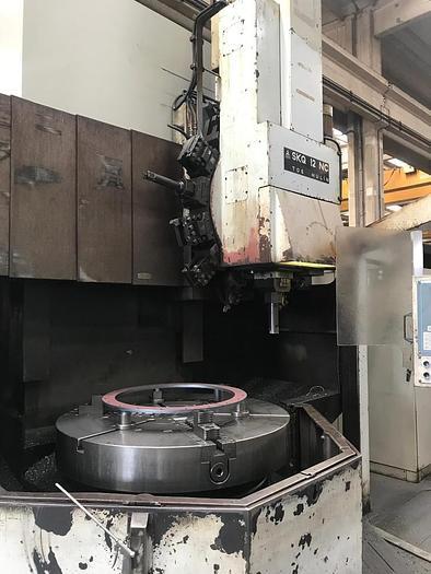 TORNIO VERTICALE TOS SKQ 12 CNC