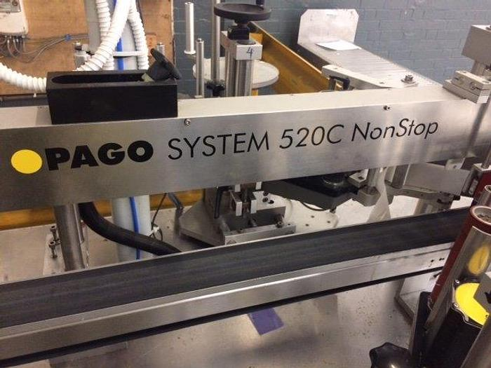 Pago Front and Back Labeller
