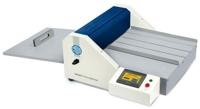 Cyklos GPM 450 SA Creasing & Perforating Machine