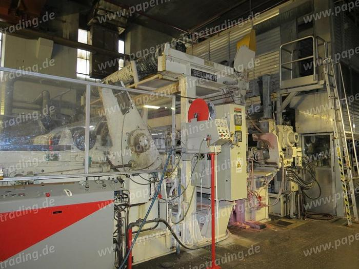 (PM2-88) - Paper machine for coated base paper, Fourdrinier - Voith - 3780 mm