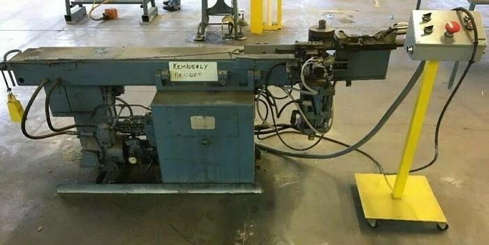 Used Pines Hydraulic Tube/Tubing Bender 3 HP 10100-76295 460V *Tested*