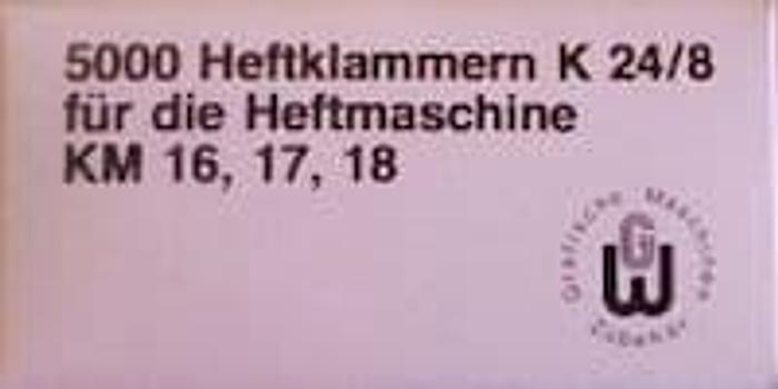 Gerd Winterling (HeftKlammern) Staples 50/20 (Pack of 2500)
