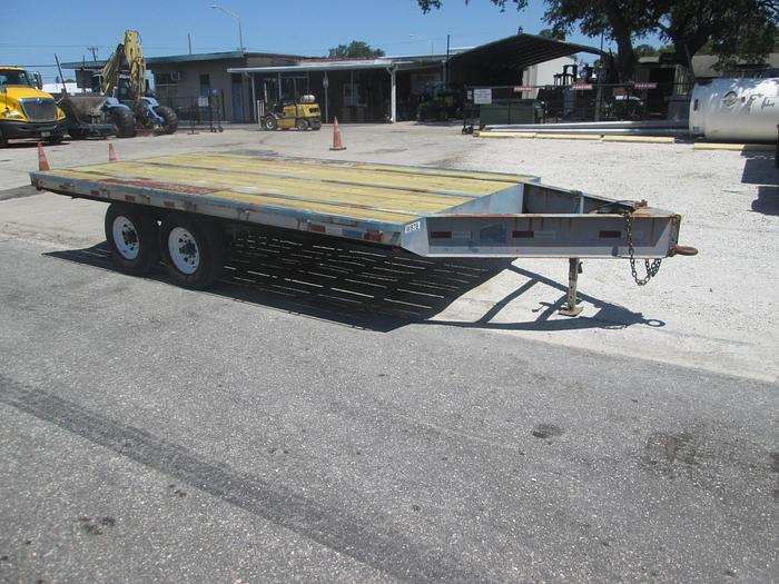 Used 8'x16' Deck Over Tag A Long Trailer