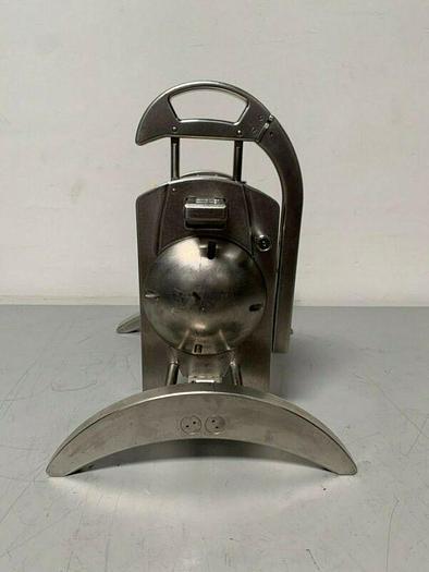 Used Sartorius 17546---001 Stainless Steel Tangential Crossflow Filtration Holder