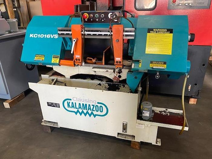"""Used Clausing Kalamazoo 10""""  x 16"""" (250mm) Wet Cutting Bandsaw, Variable Speed - KC1016VS #5971"""