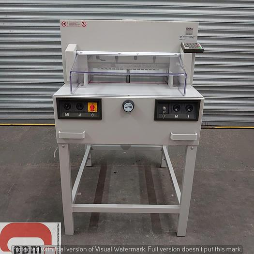 Used Ideal 4850-95 EP Guillotine