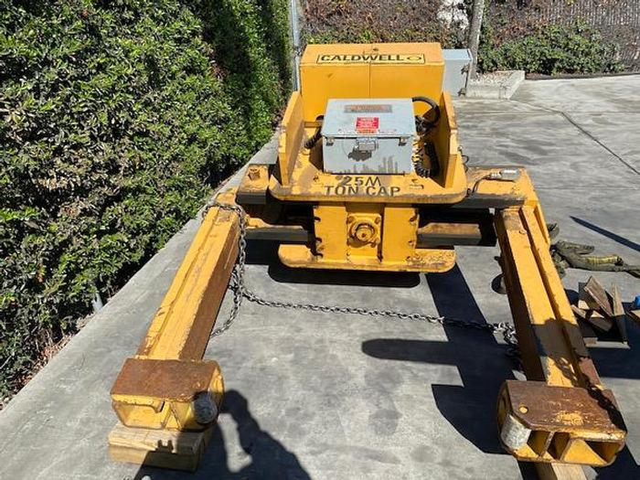 Used Caldwell Motorized Coil Grab 85R-25M-72 60,000 lbs. #5788