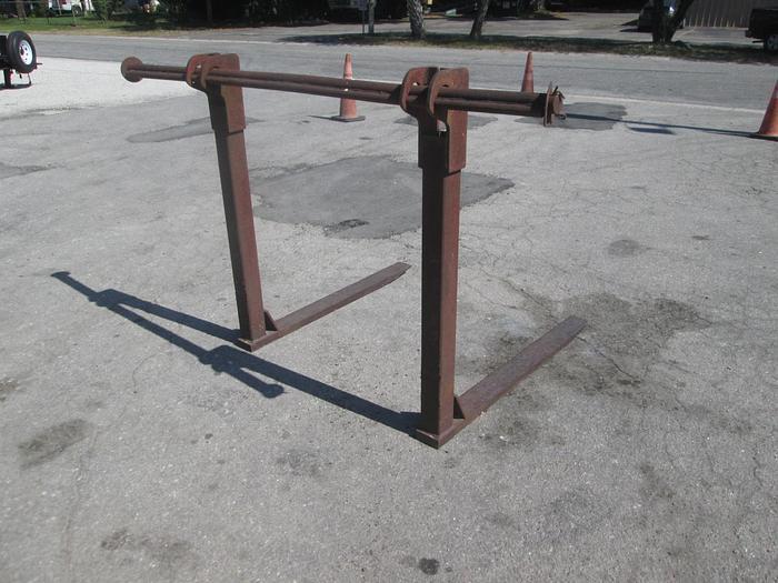 Used 4' Wheel Loader Forks