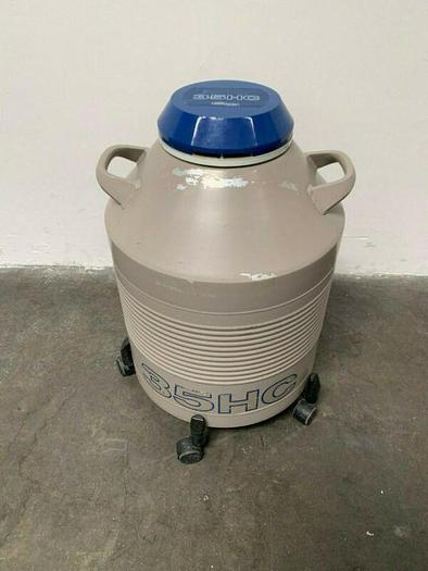 Used Union Carbide 35HC Liquid Nitrogen Storage 35 Liter