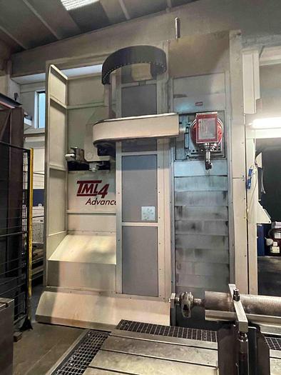 Usata FRESATRICE A MONTANTE MOBILE TIGER TML 4 CNC
