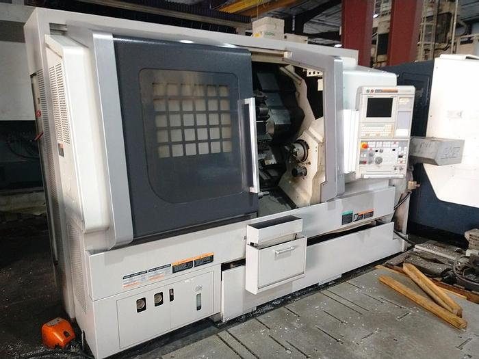 """Used 2012 Mori Seiki CNC lathe with Sub Spindle and live tooling, Model NLX 2500/SY/700, Swing 24"""", 27"""" Between Centers, 3.5"""" Spindle Bore, Aerospace machine"""