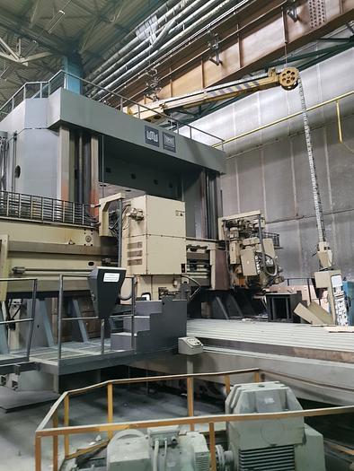 1987 Slideway grinding machine type SZ 2500x2000x6000/5  Heckert