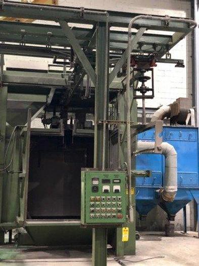 Used 2000 METALWORKING SPINNER HANGER SHOT BLAST MACHINE