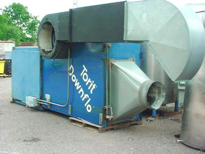 Used USED DUST COLLECTOR, PULSE AIR, 9,500 CFM, 4064 SQ. FT., CARTRIDGE