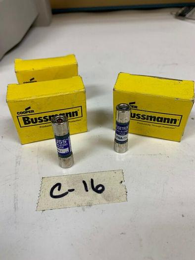 10-Bussmann Fusetron FNA-1/10 Fuse&17 MIN-1 New In Boxes Fast Shipping!