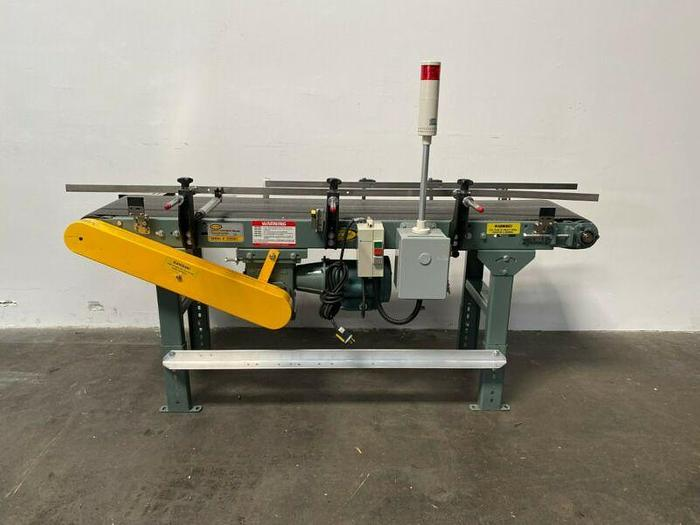 "Used Hytrol Model TA 70"" x 14"" Powered Belt Conveyor w/ 1/2 HP Motor & Controller"