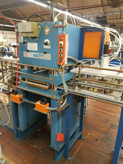 Used Neff 30 Ton Press Die Cutting Forming Stamping Pneumatic