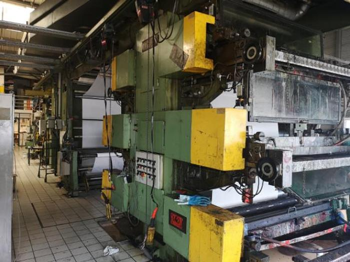 Used MAF ORION 7 COL STACK FLEXO – year 1992