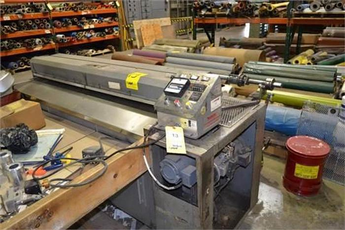 """Used 60"""" ROSENTHAL SHEETER WRAP-O-MATIC MDL. WA-S-5-UZTLVA WITH COUNTER"""