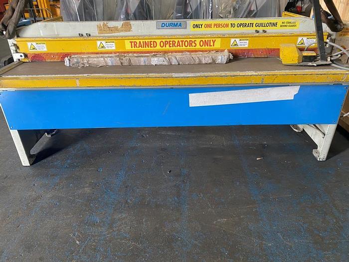 Used 1999 Durma RGM 2525 2.5m x 2.5mm Mechanical Shears
