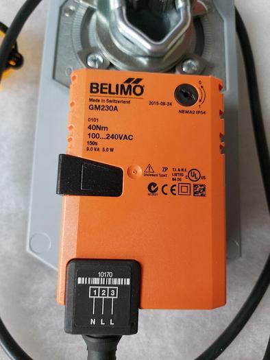 Drosselklappenantrieb 40Nm, GM 230A, Belimo,  neu