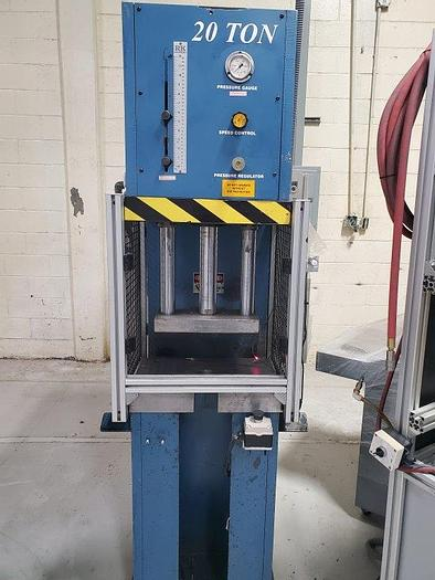 Used 2017 Press Master CFP20 Hydraulic Press