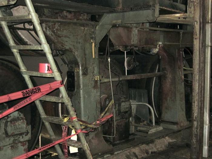 """Used 60"""" DIA. X 184"""" FACE (1524MM X 4.68M)   BELOIT DRYER SECTION 160 PSI (24)"""