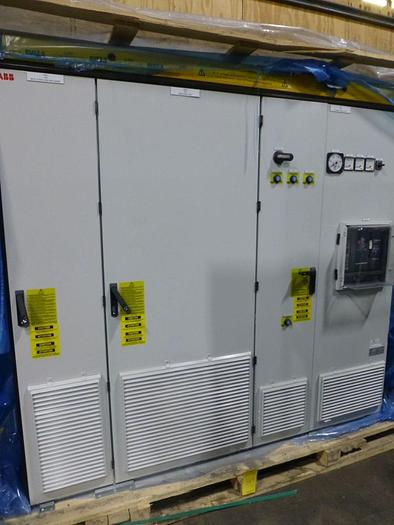 Used ABB DRIVE SYSTEM ACS880 (UNUSED NEW SURPLUS) MANUFACTURED 2018 SECTION 2 OF 4