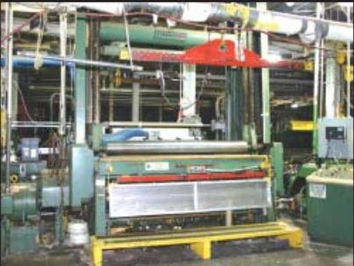 "Used 92"" (2300MM) CAMERON MODEL 450 TWO DRUM SLITTER REWINDER 60"" REWIND DIAMETER"