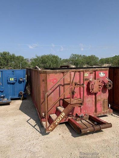 Used OPEN TOP WORKOVER TANK