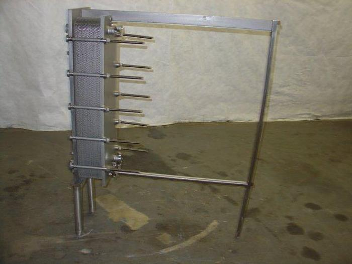 Used Cherry Burrell 4-Plate Chiller; Md# 217 BW