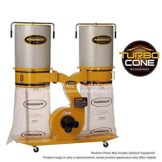 POWERMATIC PM1900TX-CK3 Dust Collector 3HP 3PH 230/460V 2-Micron Canister Kit 1792074K