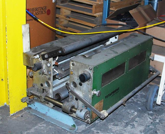 "Used 24"" Vetaphone two sided, split box treater, NO generator"