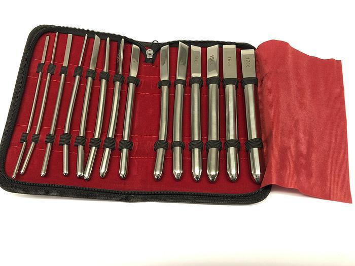 Dilator Set Cervix Hegar Set of 15 (3 to 17mm)