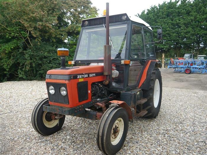 Used Zetor 5211 2wd Tractor