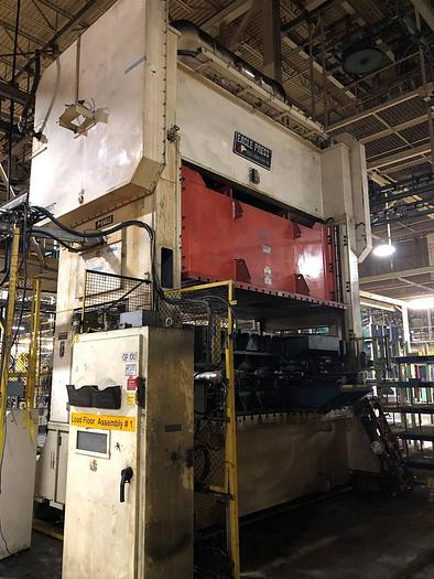 "Used 400 ton Eagle 144""x88"" SSDC Stamping Press"