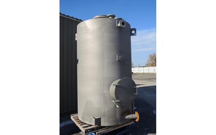 USED 1175 GALLON, STAINLESS STEEL