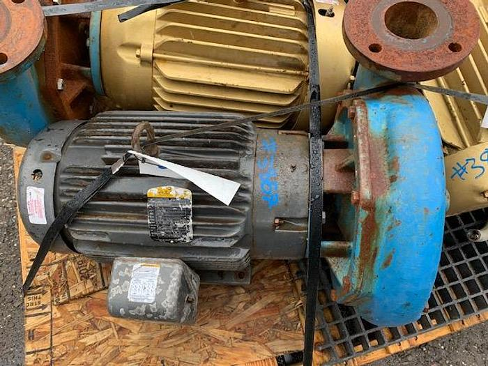 Used Goulds 4'' x 3'' Mild Steel Centrifugal Pump