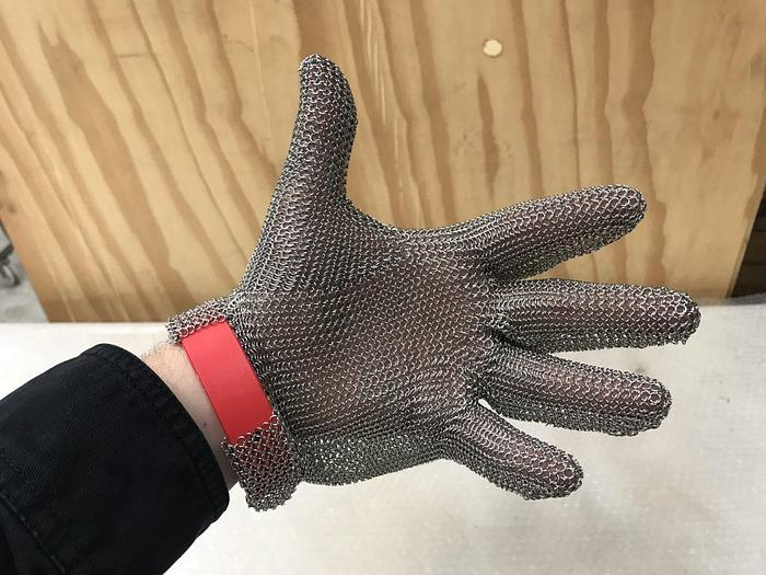Used Protection Glove