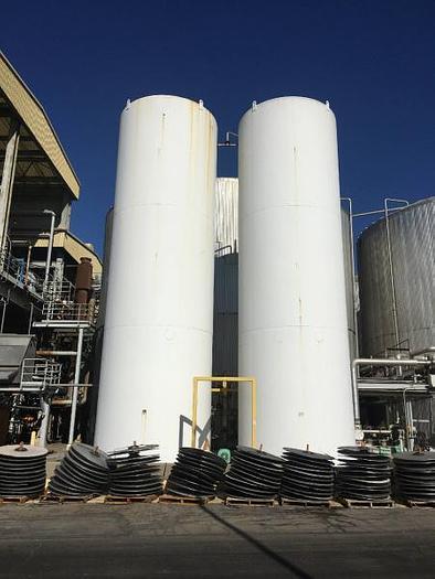 Used 30,000 gallon Stainless Steel Storage Tank Silos