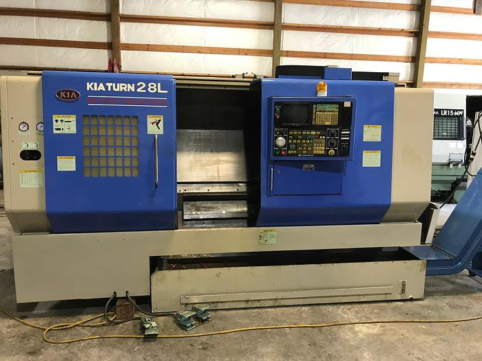 1998 KiaTurn 28L CNC Turning Center #1656