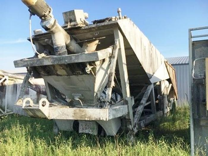 Used Johnson-Ross Portable 12yd Central Mix Concrete Batch Plant