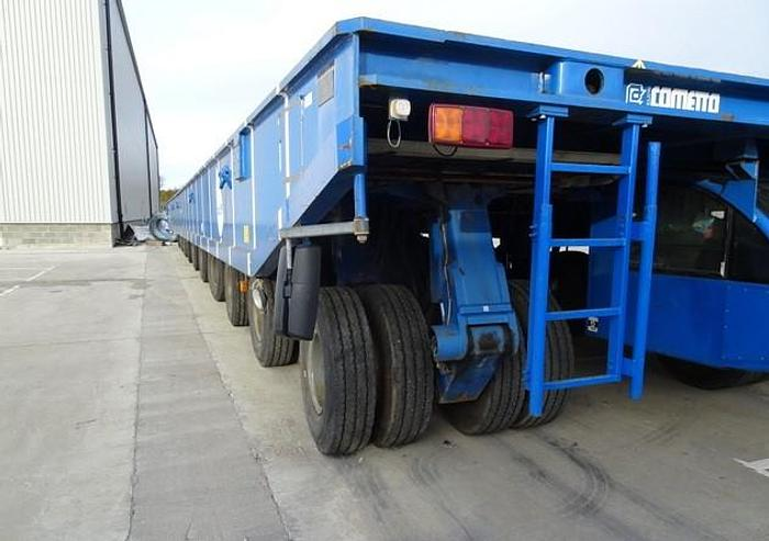 Used COMETTO SELF PROPELLED  SHIPYARD TRANSPORTERS MODEL SYT 10/5