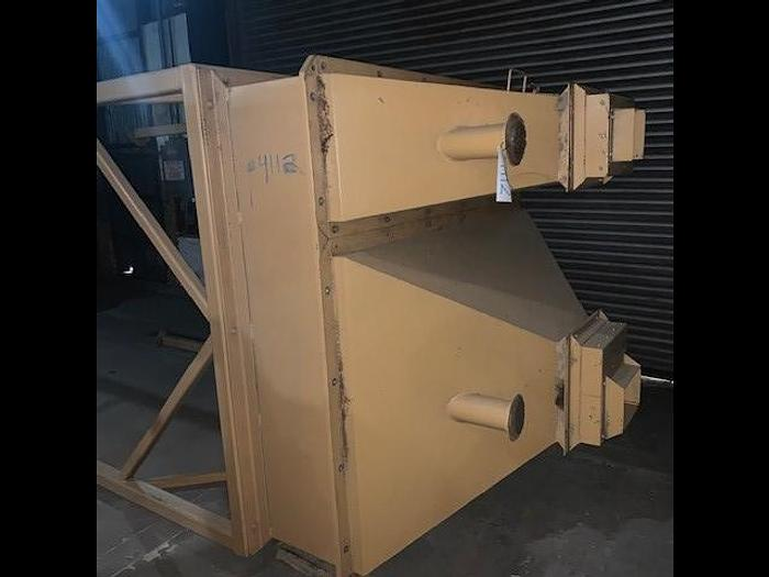 Used Grossi Feed Hopper for a Satake Sorting Line