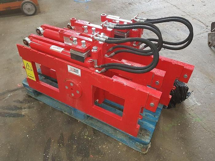 Used NEW rotary device for forklift attachment