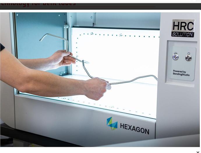 Transfluid Optical Measuring - Inspection Machine