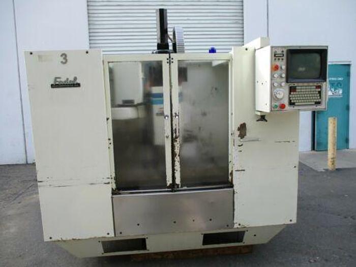 Used 1990 Fadal VMC40 Vertical Machine Center.