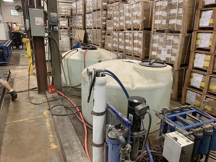 """2008 ALLTRA CORP. MODEL PG14-12 WJ,  120"""" X APPROX. 468"""" 2 HEAD GANTRY STYLE CNC WATER JET"""